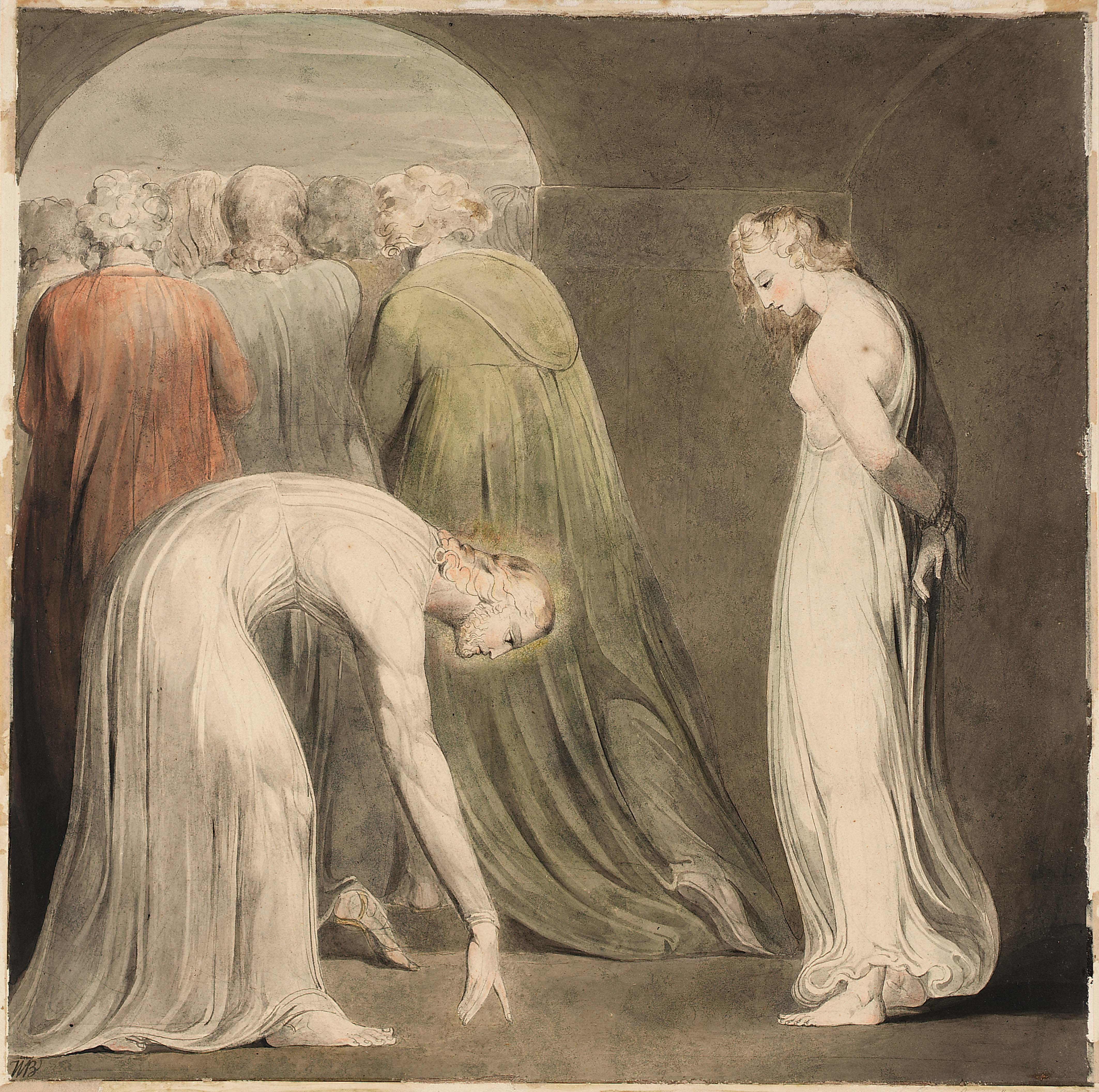 william blake style Was william blake a divine prophet, or an inspired madman.