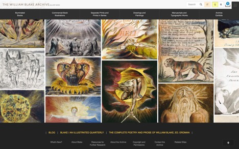 William Blake Archive Homepage